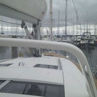 Photo taken at Lymington Yacht Haven by David T. on 9/18/2012