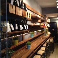 Photo taken at Coffee Lab - 1st Espresso Bar by Stelios R. on 3/19/2013