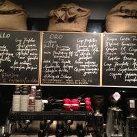 Photo taken at Coffee Lab - 1st Espresso Bar by Stelios R. on 4/27/2013