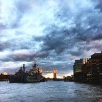 Photo taken at London Bridge City Pier by Toby H. on 11/6/2016