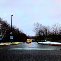 Photo taken at Town Moor by Toby H. on 2/27/2018