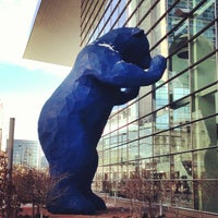 Photo taken at Big Blue Bear (I See What You Mean) by Jesse R. on 12/28/2012