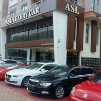 Photo taken at ASL LUXURY CAR (perge) by Mithat A. on 6/16/2016
