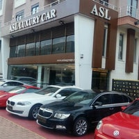 Photo taken at ASL LUXURY CAR (perge) by Mithat A. on 6/14/2016