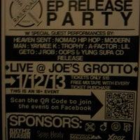 Photo taken at Joe's Grotto by Ryan M. on 1/13/2013