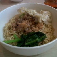 Photo taken at Bakmi GM by Elly R. on 10/4/2012