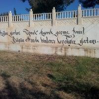 Photo taken at Eski Mezitli Şehitlik Anıtı by Nuyan G. on 1/3/2016
