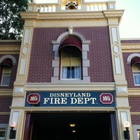 Photo taken at Disneyland Fire Department No. 1 by Charlie H. on 3/11/2013