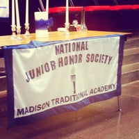 Photo taken at Madison Traditional Academy by Charlie H. on 9/14/2012