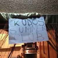 Photo taken at Kudos Summer Club by Banu C. on 8/30/2013