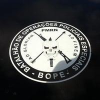 Photo taken at BOPE - Batalhão de Operações Policiais Especias by Alexsandro D. on 12/31/2012