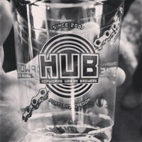 Foto tirada no(a) Hopworks Urban Brewery por Kristin C. em 2/17/2013