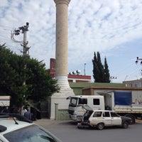 Photo taken at Çiftlikköy Camii by Ali E. on 10/28/2016