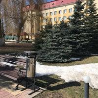 Photo taken at Санаторий станции Гомель БелЖД by Алёнка В. on 4/3/2018