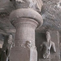 Photo taken at Elephanta Caves by Oleg Y. on 3/26/2013