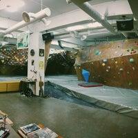 Photo taken at The JA's Climbing Center by Ki H. on 6/11/2014