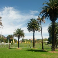 Photo taken at Prince Alfred Park by Aram D. on 2/18/2013