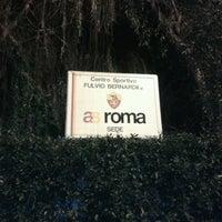 Photo taken at A.S. Roma - Centro Sportivo Fulvio Bernardini by Federico B. on 12/23/2012