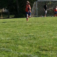 Photo taken at Rotary Park Soccer Fields by Bret T. on 5/15/2013