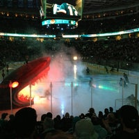 Photo taken at SAP Center by Daniel B. on 4/2/2013