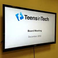 Photo taken at Teens in Tech Labs HQ by Daniel B. on 12/21/2012
