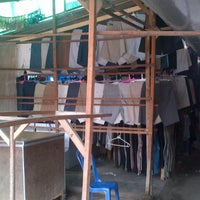 Photo taken at Pasar Kodok (Frog Market) by herjoynotali on 12/20/2012