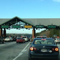 Photo taken at GA 400 Toll Plaza Employee Parking Lot by Sally A. on 1/3/2013