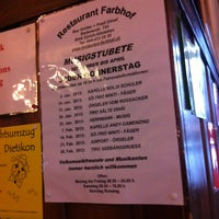 Photo taken at Restaurant Farbhof by Dagmar M. on 1/11/2013