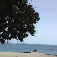 Photo taken at Rodger's Beach by Shira on 7/4/2014