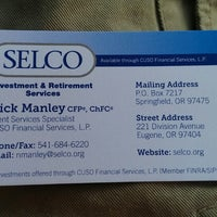 Photo taken at SELCO Community Credit Union by Matt K. on 5/2/2014