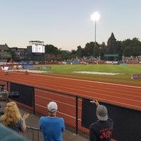 Photo taken at Hayward Field by Matt K. on 5/27/2017