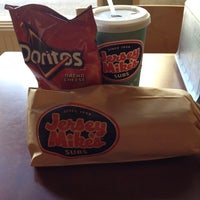 Photo taken at Jersey Mike's Subs by Cathy V. on 9/1/2014