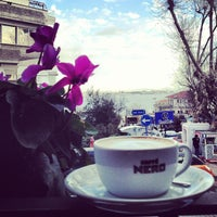 Photo taken at Caffé Nero by Tugce O. on 1/22/2013