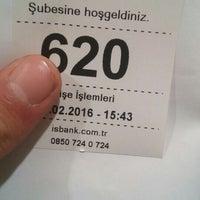 Photo taken at Türkiye İş Bankası by Eyüp E. on 2/17/2016