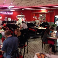 Photo taken at Steak 'n Shake by Jeff C. on 2/1/2014