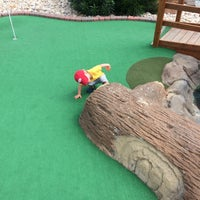 Photo taken at Adventure Golf by Steve H. on 8/30/2014