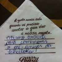 Foto tirada no(a) Grão Brasil Café por Camila S. em 5/21/2013