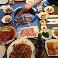Photo taken at Han Sang Korean Charcoal BBQ by 🍀Jessie Agnes Ng🌟 黄. on 2/14/2014