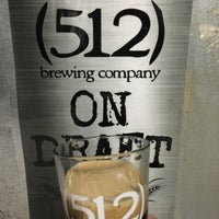 Photo taken at (512) Brewing Company by Pun M. on 1/2/2016