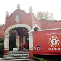 Photo taken at Bikram Yoga San Angel by Bikram Yoga San Angel on 12/31/2015