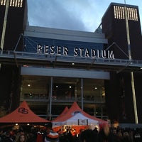 Photo taken at Reser Stadium by Mostafa D. on 10/21/2012