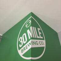 Photo taken at 30 Mile Brewing Co. by Gabe B. on 2/11/2017