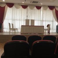 Photo taken at Kadirli Belediyesi Nikah Salonu by Dilek Ş. on 7/19/2016