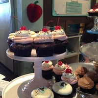 Photo taken at Trophy Cupcakes by Ann P. on 7/10/2013
