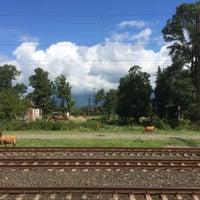 Photo taken at Kobuleti Railway Station   ქობულეთის რკინიგზის სადგური by Karen H. on 7/24/2016