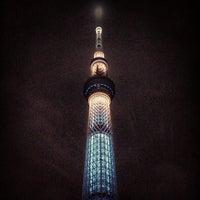 Photo taken at Tokyo Skytree by masahiro i. on 7/25/2013
