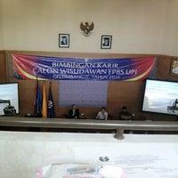 Photo taken at Fakultas Pendidikan Bahasa dan Seni (FPBS) by Syifa B. on 8/19/2014