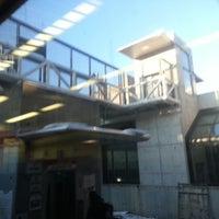 Photo taken at MBTA Porter Square Station by Yuan M. on 1/6/2013