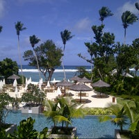 Photo taken at Kempinski Resort Seychelles by Gul G. on 6/8/2013