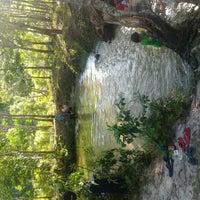 Photo taken at Sungai Hijau Bangkinang by agus s. on 5/12/2013